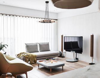 120平米三室两厅欧式风格客厅装修效果图