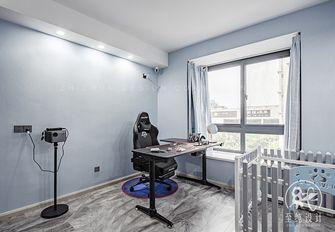 130平米三室两厅现代简约风格影音室图片大全