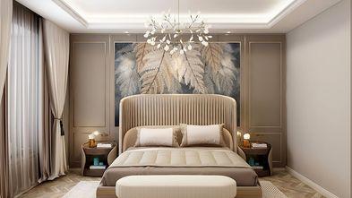 130平米三室一厅新古典风格卧室效果图