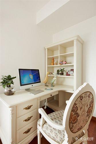 110平米三室两厅田园风格书房装修效果图