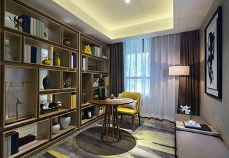 140平米三室三厅现代简约风格书房装修效果图