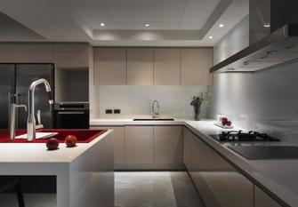 140平米三室三厅地中海风格厨房图