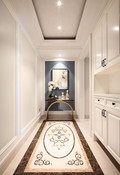 140平米三室一厅美式风格玄关装修效果图