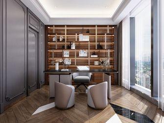 140平米三室一厅法式风格书房装修案例