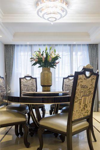120平米四室两厅新古典风格餐厅装修案例