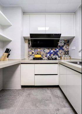 90平米三美式風格廚房圖