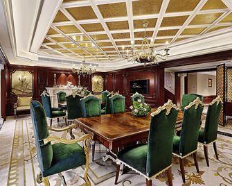 140平米别墅新古典风格餐厅图片