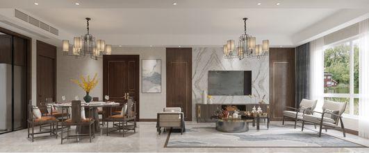 110平米四室两厅新古典风格餐厅欣赏图