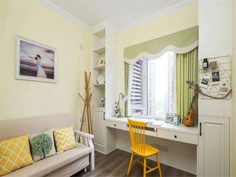 80平米三室一厅田园风格书房装修图片大全