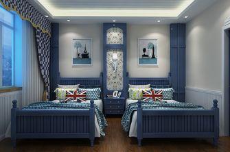 100平米三室两厅地中海风格卧室设计图