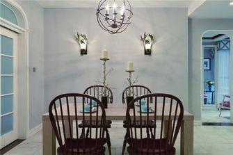 120平米三室三厅美式风格餐厅图片大全