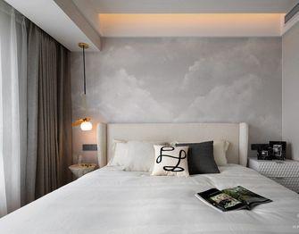 经济型80平米现代简约风格卧室图
