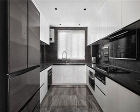 100平米三室一廳現代簡約風格廚房裝修圖片大全