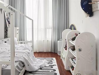 100平米三室两厅北欧风格儿童房欣赏图