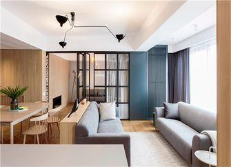 80平米日式风格客厅图