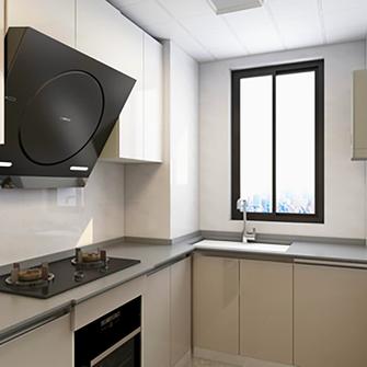 100平米三现代简约风格厨房图片大全