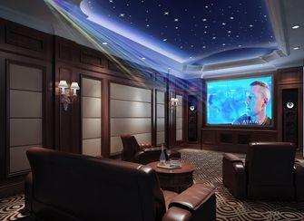 140平米别墅欧式风格影音室图片大全