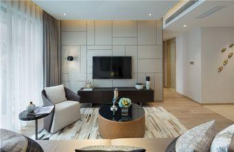 120平米四室一厅现代简约风格客厅装修效果图