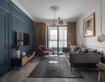 140平米公寓法式风格客厅图