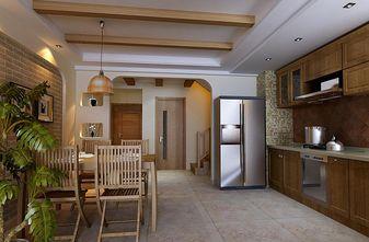 130平米复式地中海风格厨房设计图