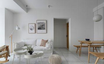 80平米一室一厅日式风格客厅图