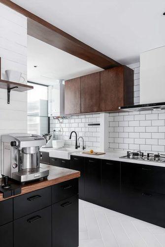 140平米四室两厅北欧风格厨房欣赏图