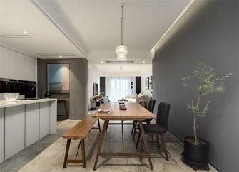 90平米三室一厅现代简约风格餐厅装修案例