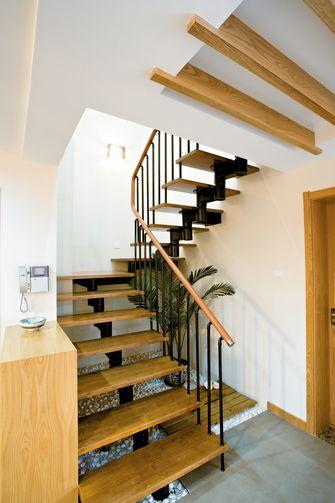 140平米复式东南亚风格楼梯间装修图片大全