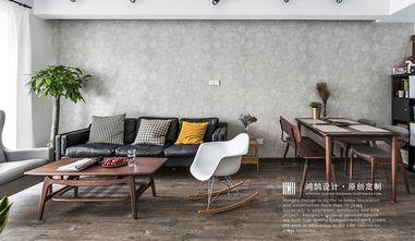 80平米三室两厅北欧风格客厅装修图片大全