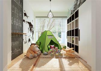 120平米三室两厅北欧风格儿童房设计图