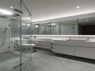 130平米四室一厅英伦风格卫生间装修图片大全