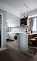 50平米公寓北欧风格厨房效果图