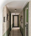 90平米三室两厅田园风格走廊图