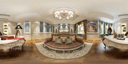 140平米别墅欧式风格书房图片