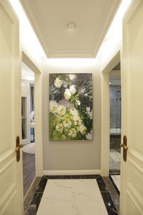 140平米三室一厅混搭风格走廊设计图