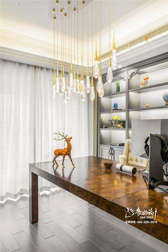 140平米四室两厅法式风格书房效果图
