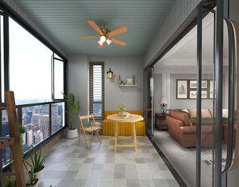 140平米四美式风格阳台图片大全