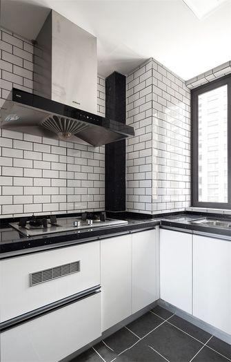 90平米三室一厅现代简约风格厨房图片
