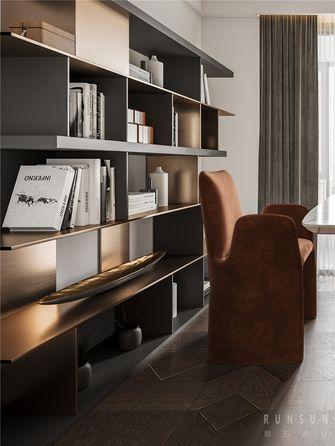140平米复式混搭风格书房效果图
