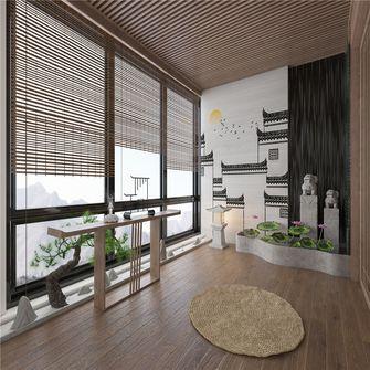 140平米四室两厅中式风格阳光房装修案例