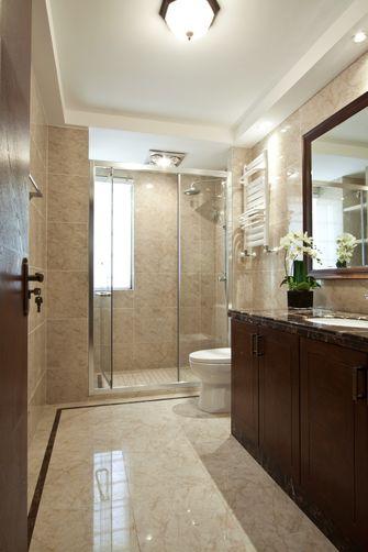 110平米三室两厅中式风格卫生间欣赏图