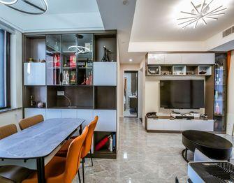 140平米三室一厅北欧风格餐厅欣赏图