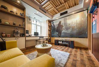 110平米北欧风格影音室设计图