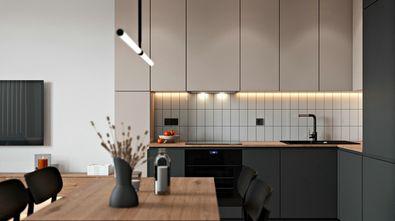 50平米一室一厅北欧风格厨房图