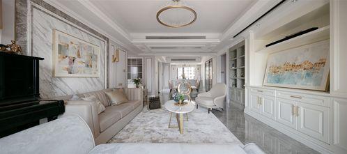 140平米四室四厅美式风格客厅效果图