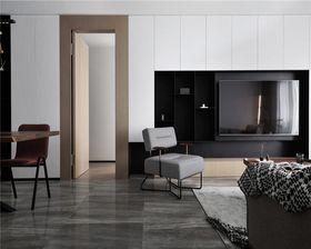 100平米三室一廳現代簡約風格客廳裝修效果圖
