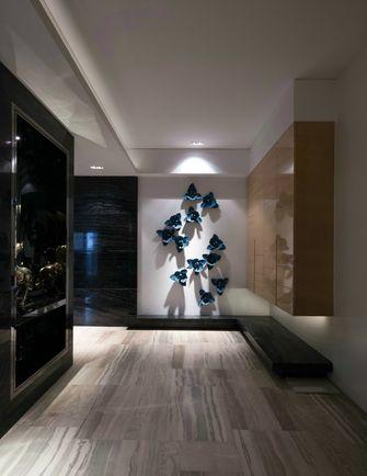 富裕型140平米三室两厅英伦风格走廊设计图