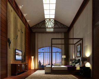 140平米复式中式风格卧室飘窗装修图片大全