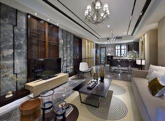 130平米四室一厅中式风格客厅装修案例