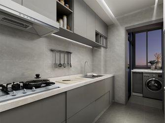 80平米三室一厅现代简约风格厨房图片